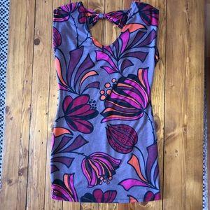 Audrey 3+1 Cutout Mini Dress